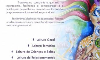 Leitura de Aura, com a terapeuta Lorena Moura