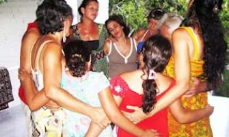 Biodança em Aldeia, dia 11 de agosto