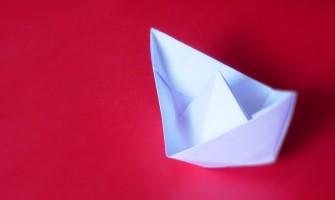 Oficina de Origami para crianças dia 24 de julho, no Gerar