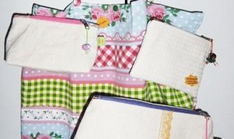 Sacolas, estojos, almofadinhas aromáticas…Conheça os produtos artesanais de Karla Fagundes