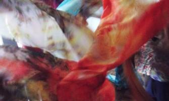 Oficina Terapêutica de Pintura em Seda, dia 6 de outubro, no Gerar