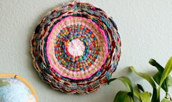 Aprenda a fazer um lindo tapete-mandala!