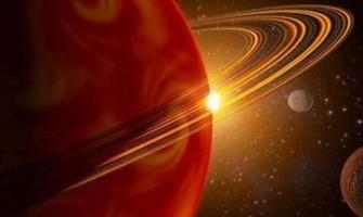 'Marte em oposição a Saturno', por Haroldo Barros