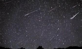 Chuva de meteoros Omega Scorpiids