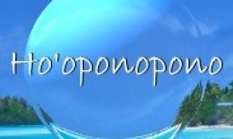 HO'OPONOPONO  –  Muito Além da Manifestação