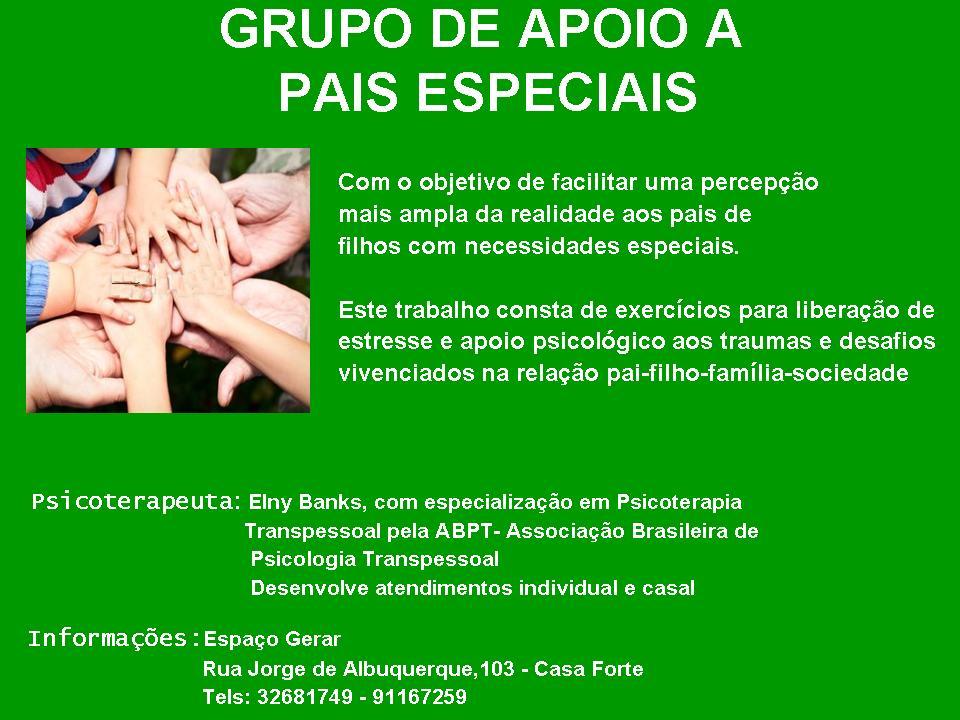 Grupo Apoio Especiais