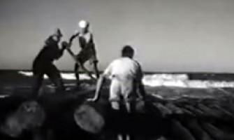 'Suíte do Pescador' de Dorival Caymmy, com imagens de filme inacabado de Orson Welles