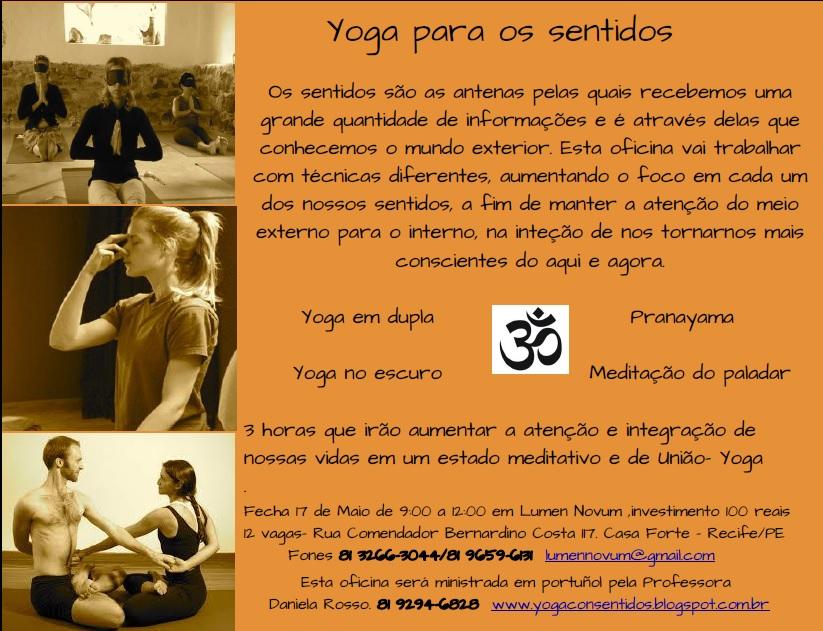 yoga para os sentidos