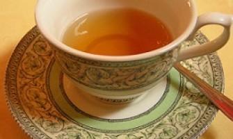 Chá desintoxicante emagrecedor