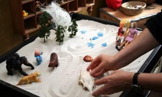 Mini-curso de Introdução ao Sandplay de 19 a 21 de janeiro no Lumen Novum