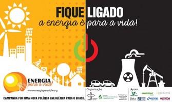 Leilão de energia solar e a campanha 'Energia para a Vida'