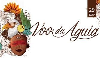 Xamã Léo Artese realiza cerimônia 'Voo da Águia'