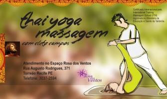 Atendimentos de Thai Yoga Massagem com Cleto Campos