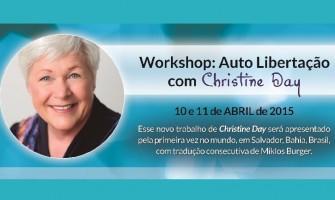 Workshop 'Auto Libertação com Christine Day', em Salvador/BA