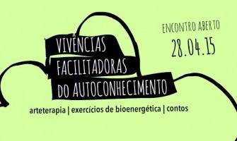 Vivências Facilitadoras do Autoconhecimento no espaço Horizonte, dia 28/4