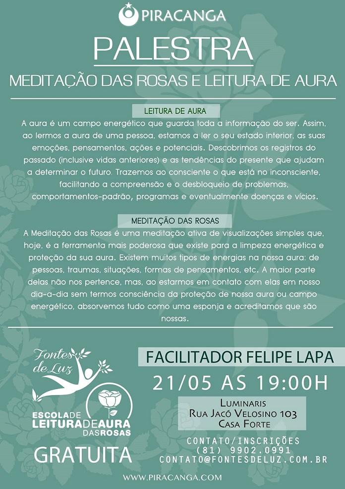 Flyer Palestra Maio