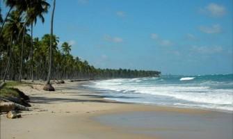 Caminhada ecológica na praia de Itapuama dia 7/6/15