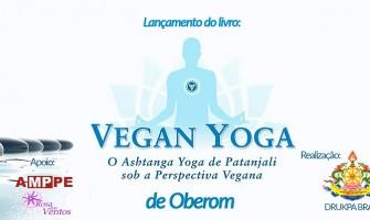 Oberom lança o livro 'Vegan Yoga' no Recife dia 22/9