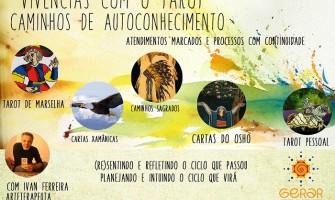 Vivências arteterapêuticas 'Caminhos de Autoconhecimento através do Tarot', com Ivan Ferreira