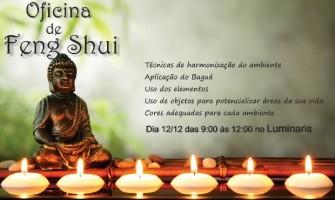 Oficina de Feng Shui dia 12/12 no Luminaris