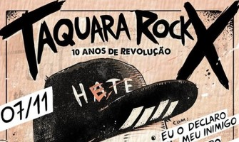 X Taquara Rock acontece neste sábado em Taquaritinga do Norte