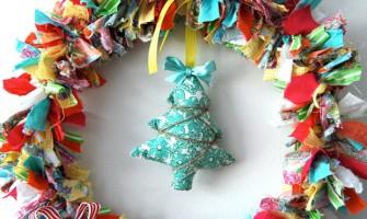 Guirlandas de Natal artesanais!