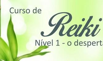 'Curso de Iniciação em Reiki nível 1 –  O Despertar' dia 14/5 no Horizonte