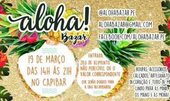 Aloha! Bazar neste sábado no Capibar