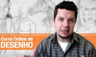 Aprenda a desenhar sem sair de casa no Curso Online de Desenho Artístico