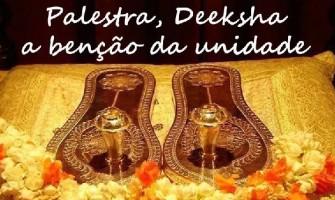 Palestra gratuita 'Deeksha – a benção da unidade' na próxima terça no Lapis Lazuli