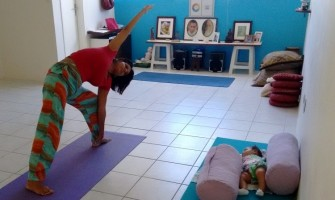 Yoga Baby toda sexta-feira no Garuda Yoga
