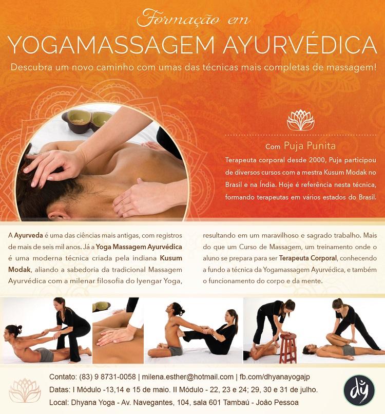 yoga massagem ayurveda