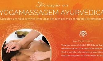 Formação em Yoga Massagem Ayurvédica com Prem Puja em João Pessoa