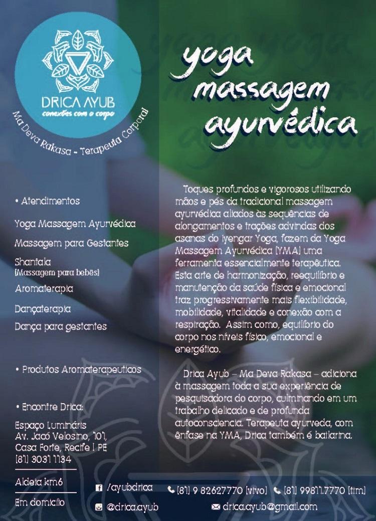 yoga massagem ayurvedica