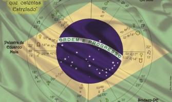 ASTRÓLOGO EDUARDO MAIA FAZ PALESTRA GRATUITA NESTA QUINTA COM O TEMA 'BRASIL – O LÁBARO QUE OSTENTAS ESTRELADO'