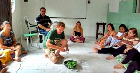 Encontro do grupo 'Abrindo espaço para Prosperidade em nossa vida' dia 13/7