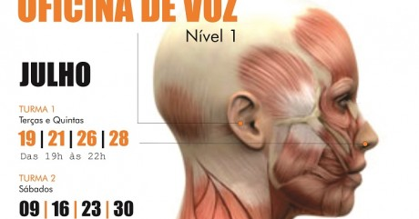 Carlos Ferrera abre em julho novas turmas da Oficina de Voz (nível 1)