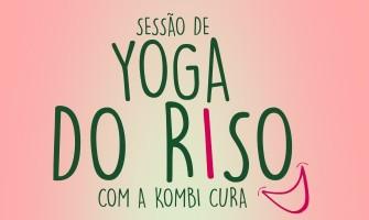 Sessão de Yoga do Riso com a Kombi Cura no Garuda Yoga nesta sexta