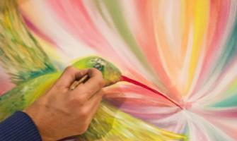 ARTE INSPIritual:  conheça Pedro Vayu Gallinger, artista argentino que está de passagem pelo Brasil