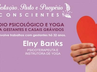 [AGENDA PE] Apoio Psicológico e Yoga para Gestantes e Casais Grávidos, com Elny Banks, no Gerar