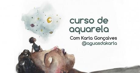 [AGENDA PE] Curso de Aquarela para iniciantes e arteiros, a partir de 4 de abril, no Gerar