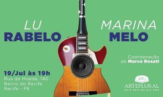 [AGENDA PE] Projeto Gerações Musicais promove encontro das cantautoras Lu Rabelo e Marina Melo