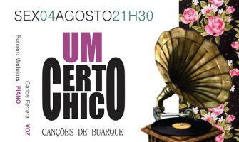 [AGENDA PE] Cantor Carlos Ferrera interpreta músicas de Chico Buarque dia 4/8