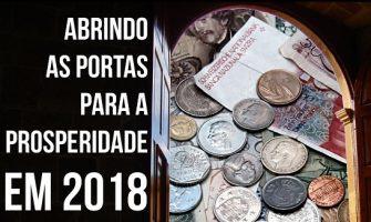 [AGENDA PE] Vivência 'Abrindo as Portas para Prosperidade em 2018' dia 21/2 no Recife