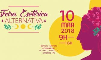 [AGENDA PE] Feirinha Esotérica Alternativa dia 10/3 em Caruaru