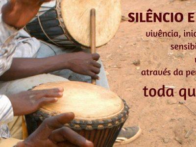 [AGENDA PE] Vivência de iniciação e sensibilização musical através da percussão, com Negro Grilo, toda quarta-feira na Maumau