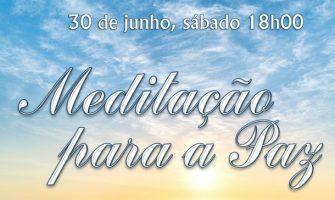 [AGENDA PE] Meditação Pela Paz, dia 30/6/2018, na Loja Rosacruz Recife