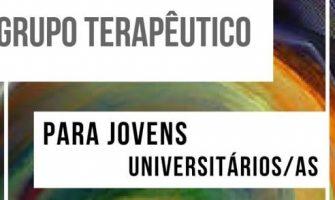 [AGENDA PE] Grupo Terapêutico para Jovens Universitários, a partir de 7/8, no Espaço Gerar