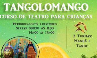 [AGENDA PE] 'Curso Tangolomango de Teatro para Crianças' tem início em agosto no Recife