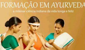 [AGENDA PE] Curso de Formação em Terapeuta Ayurveda, a partir de 24/11, no Recife